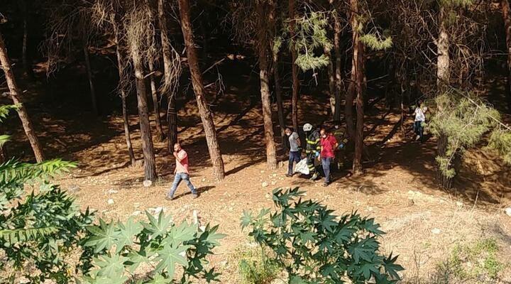 Baba ile 7 yaşındaki kızı, ağaca asılı halde ölü bulundu