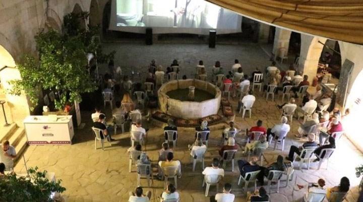 Safranbolu'da tarihi Cinci Hanı'nda 'Açık Hava Sineması Geceleri' etkinliği