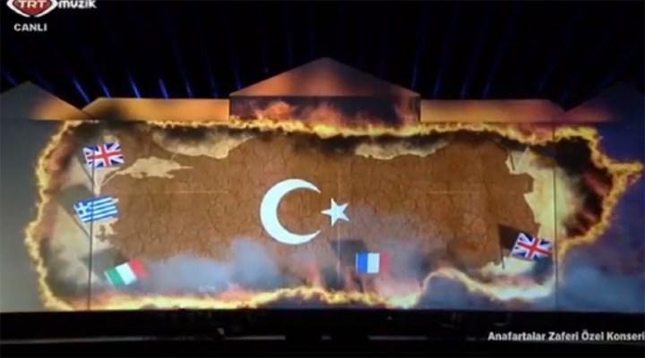 'Türk bayrağını animasyonla yakan' TRT tartışma yarattı