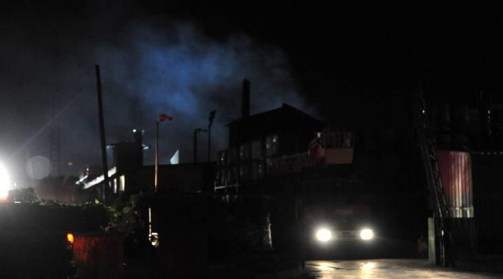 Antalya OSB'de bir fabrikada çıkan yangın söndürüldü