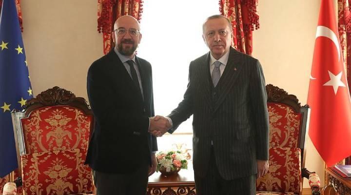 Erdoğan, AB Konseyi Başkanı ile Doğu Akdeniz'i görüştü