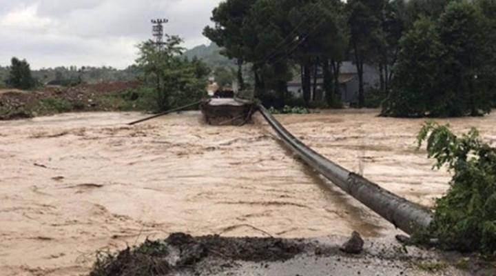 Meteoroloji'den 2 şehir için sel uyarısı