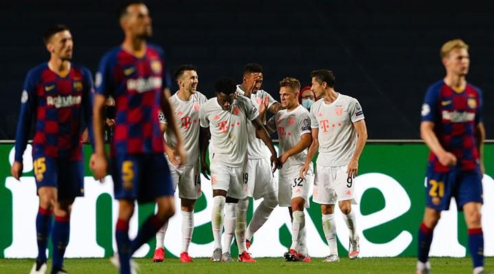 Bayern Münih, Barcelona'yı ezdi geçti
