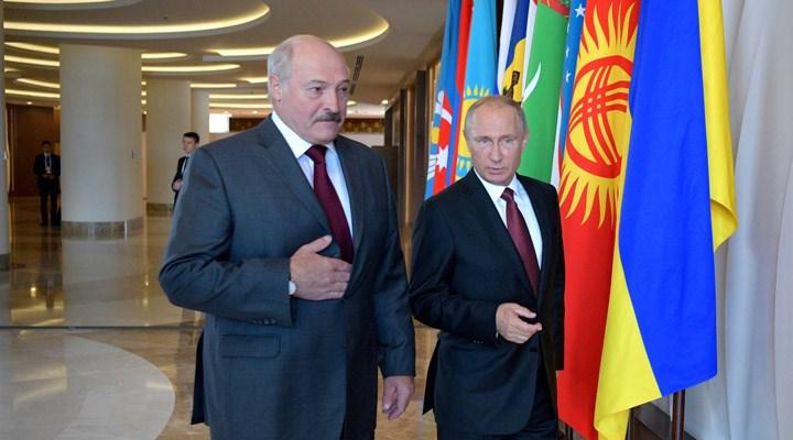 Putin ile Lukaşenko görüştü: Sorunlar gelecekte çözülecek
