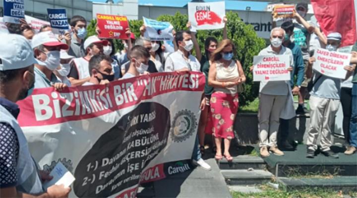 Cargill işçileri direnişi yeniden başlattı
