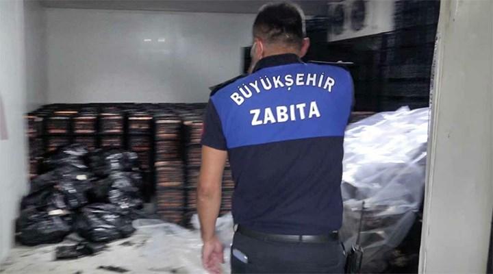 Adana'da baskınlarda 40 ton kaçak et ele geçirildi