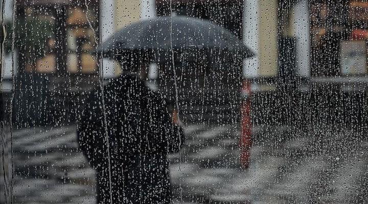 Meteoroloji'den 5 il için gök gürültülü sağanak uyarısı