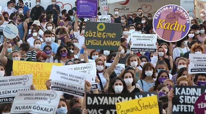 Kadınlar AKP'ye görüşünü bildiriyor: Geri adım atmayacağız