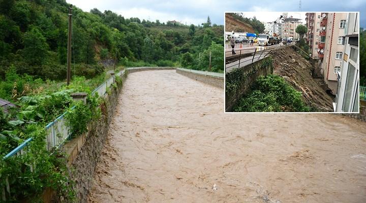 Giresun'da sel felaketi: 1 kişi yaşamını yitirdi