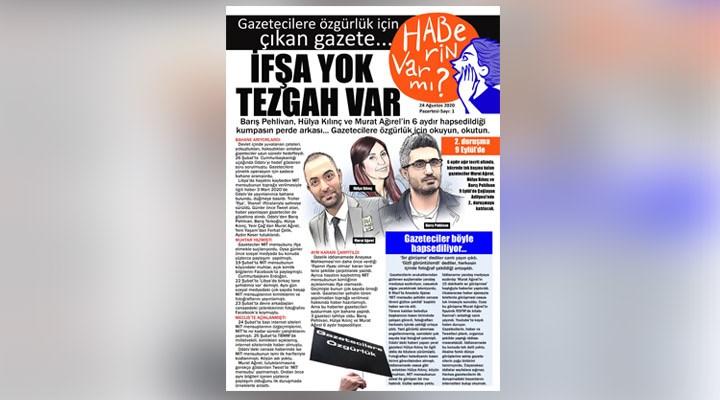 Tutuklu gazeteciler için gazete hazırlandı: Gazetecilere özgürlük için oku, okut!
