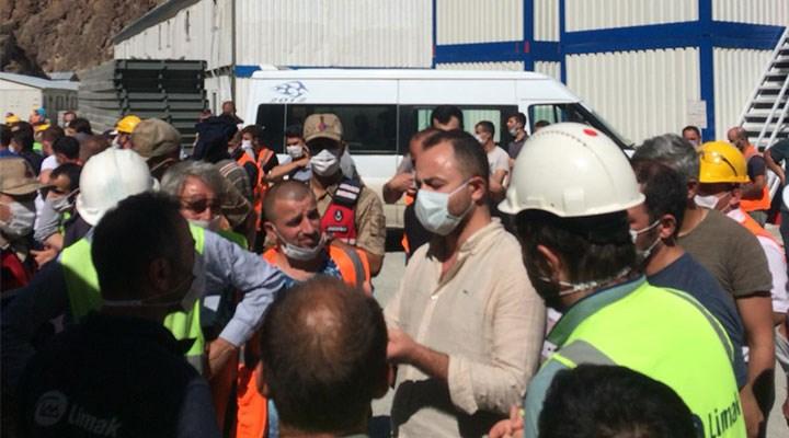 Yusufeli'nde şantiyeden çıkmak yasak! İşçileri esir aldılar