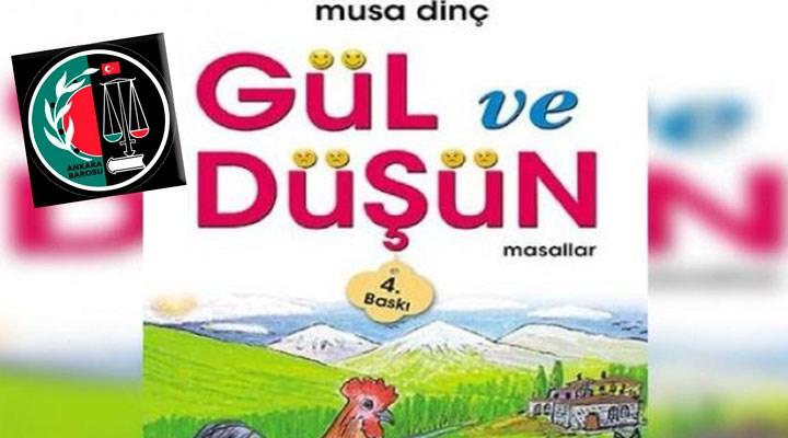 Ankara Barosu'ndan, tecavüzün anlatıldığı çocuk kitabı hakkında suç duyurusu