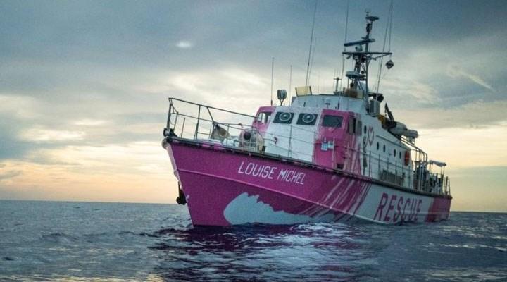 Banksy'nin fonladığı gemi göçmenleri kurtarmak için Akdeniz'e açıldı