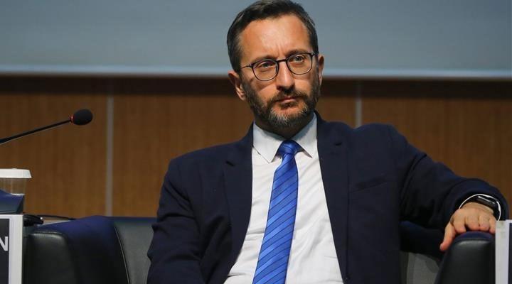 Fahrettin Altun, Hizbullah'a 'terör örgütü' dedi, sonra sildi