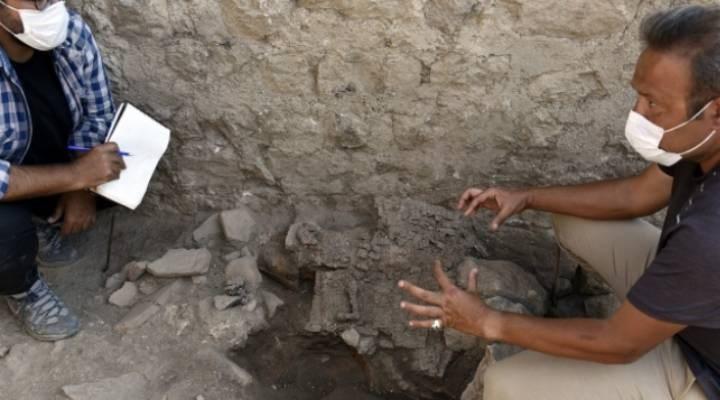 Satala Antik Kenti'nde bin 500 yıllık Roma askeri zırhı bulundu