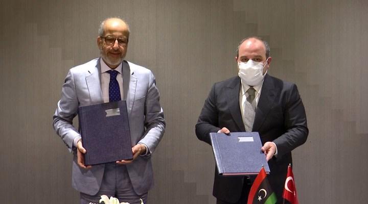 Türkiye ile Libya arasında işbirliği protokolü imzalandı