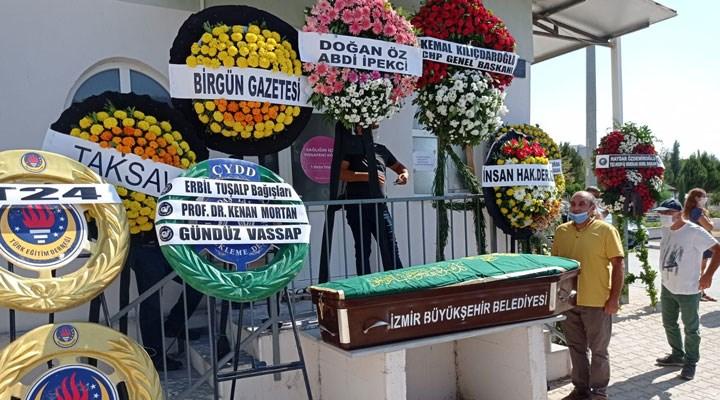 Duayen gazeteci Erbil Tuşalp son yolculuğuna uğurlandı