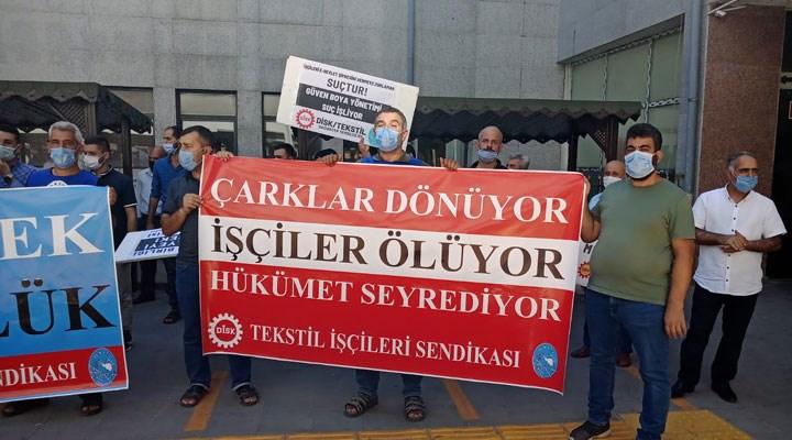 Güven Boya işçilerinden suç duyurusu: Sendika hakkımız engelleniyor