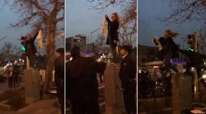İranlı aktivist Meryem Şerietmedari'nin Denizli'de gözaltına alındığı iddia edildi
