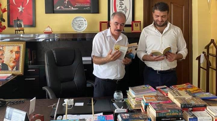 Adana Büyükşehir Belediyesi'nden köy okullarına kitap desteği