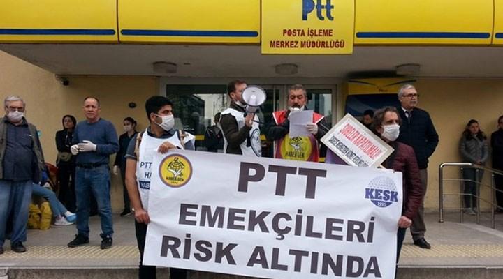 PTT'de sömürü korona dinlemiyor