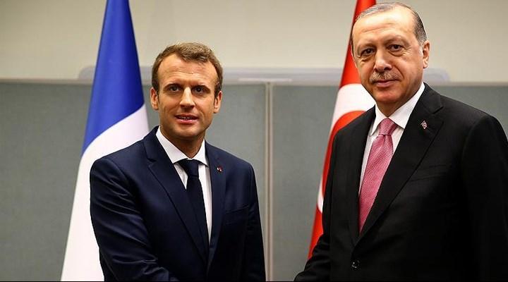 Macron'dan Türkiye açıklaması