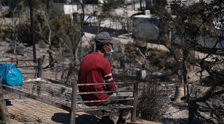 Moria sığınmacı kampında 3'üncü yangın
