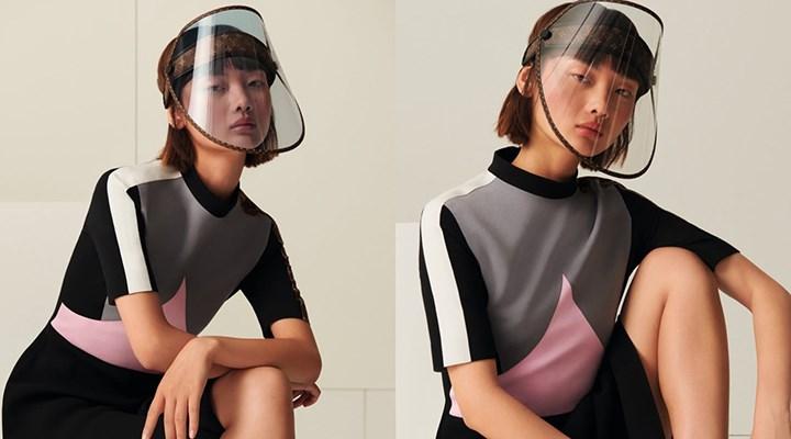 Louis Vuitton, 750 pounda yüz siperliği satıyor