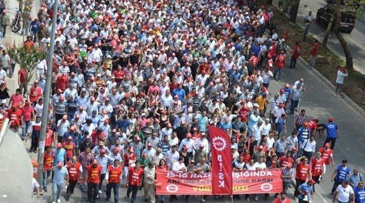 DİSK Ege Bölge Temsilciliği: 12 Eylül darbesi DİSK'i yok etmek istedi