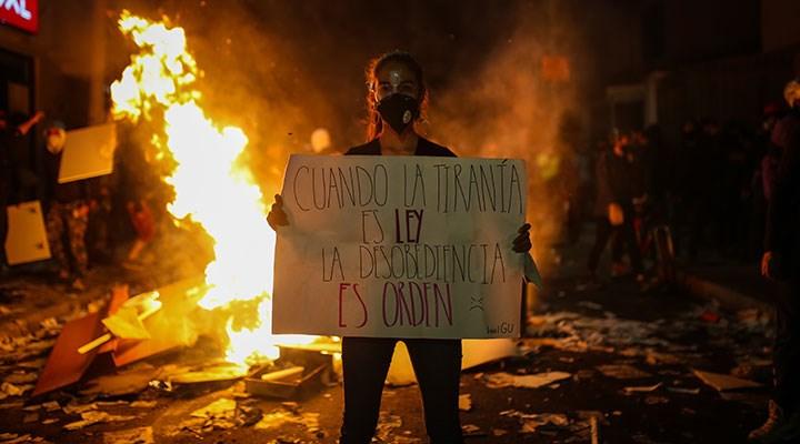 Kolombiya'da polis şiddeti ve yerel liderlere suikastlar artıyor