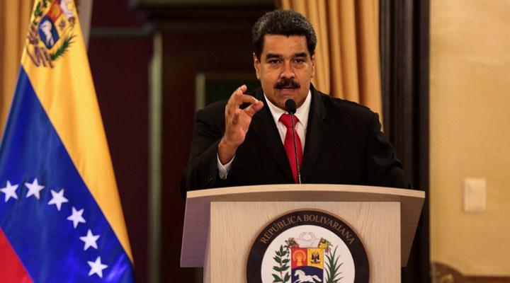 Maduro: Petrol rafinerisi bölgesinde Amerikalı bir casus yakaladık