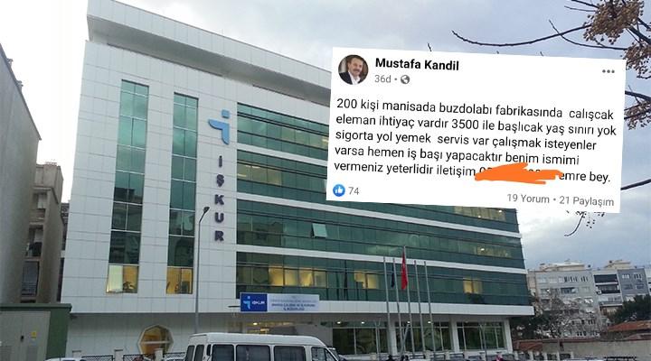 İş başvurusunda yeni dönem: AKP'li yöneticinin ismini veriyorsun, hemen işe başlıyorsun!