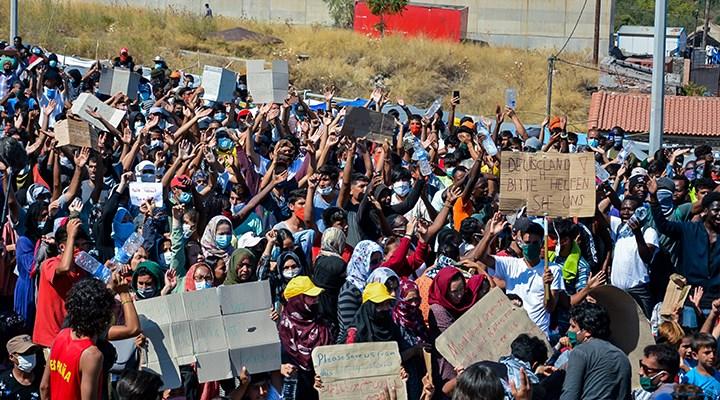 Moria mağdurları isyanda: Özgürlük istiyoruz