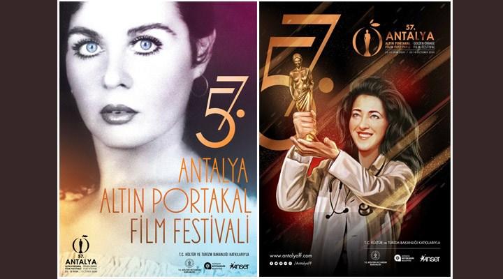 57. Antalya Altın Portakal Film Festivali iki afiş ile izleyicinin karşısına çıkacak