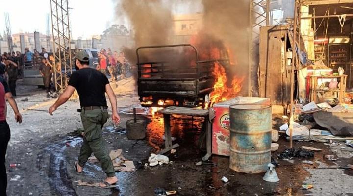 Afrin'de bombalı saldırı: 9 can kaybı, 43 yaralı