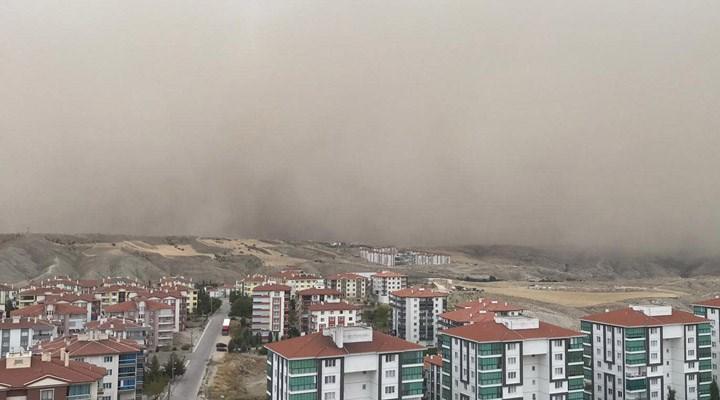 Meteoroloji'den 7 il için 'toz fırtınası' uyarısı