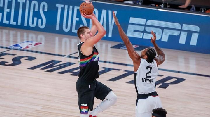 NBA play-off'ları: Denver Nuggets seriyi son maça taşıdı