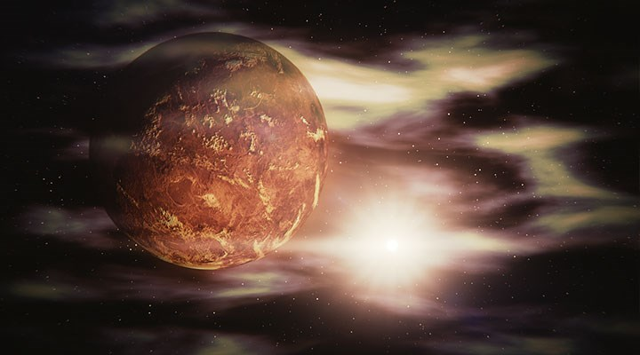 Venüs'te yaşam izi keşfedildi