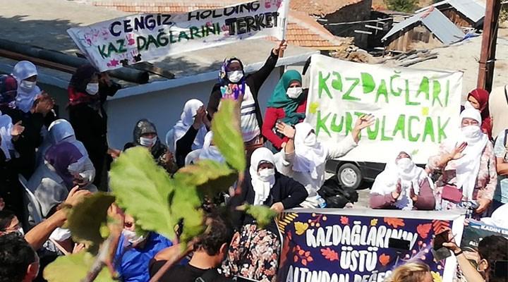 Çanakkale halkı Cengiz Holding'e izin vermedi