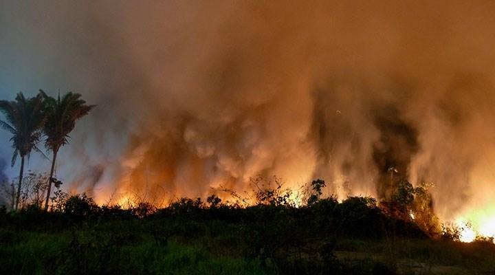 Brezilya'da yangın OHAL'i