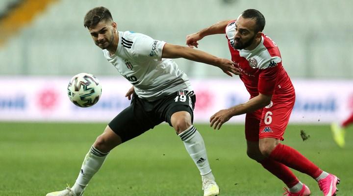 Beşiktaş sahasında Antalyaspor'a takıldı