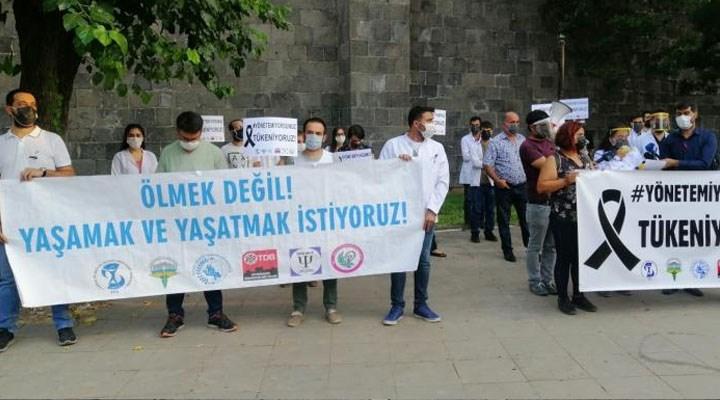 Diyarbakır Sağlık Platformu: 4 günde 62 sağlık çalışanı enfekte oldu