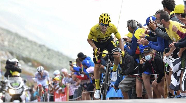 FransaBisikletTuru'nun 20. etabını Tadej Pogacar kazandı