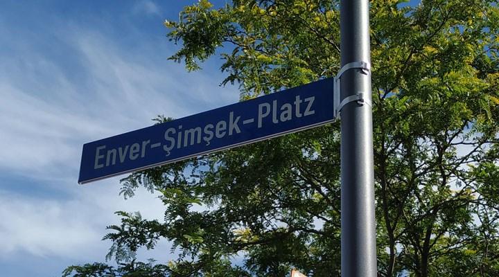 Jena'da Enver Şimşek Meydanı resmi törenle açıldı
