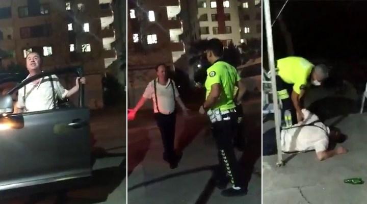Alkollü araç kullanırken yakalanan hakim, polislere küfretti