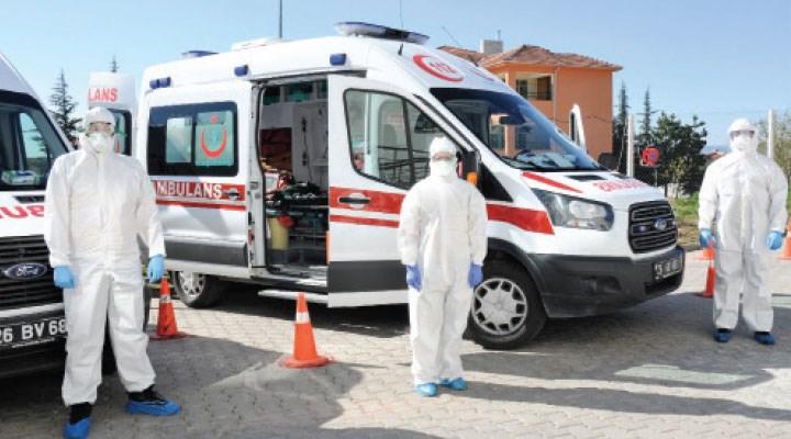 Ambulansları da VIP hastalara seferber etmişler!