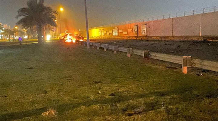 Bağdat Uluslararası Havalimanı'na roket saldırısı
