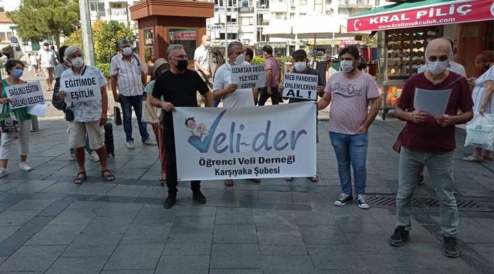 """Veli-Der Karşıyaka: """"Çocuklarımız için sağlıktan sonraki önceliğimiz eğitim hakkıdır"""""""