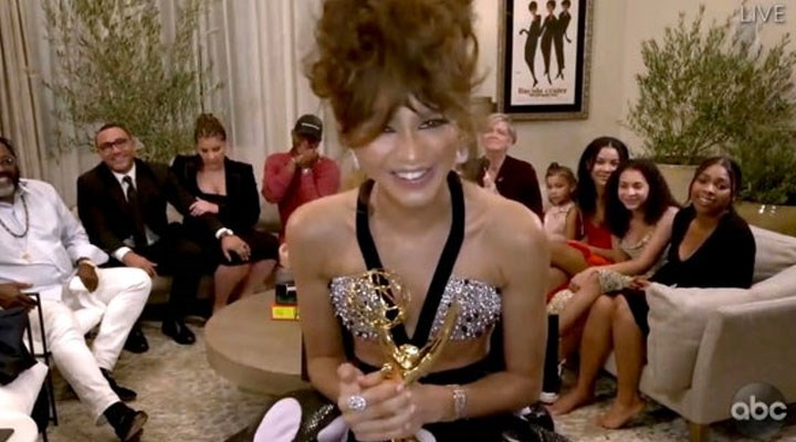 Zendaya, en iyi kadın dram oyuncusu ödülünü kazanan en genç oyuncu oldu