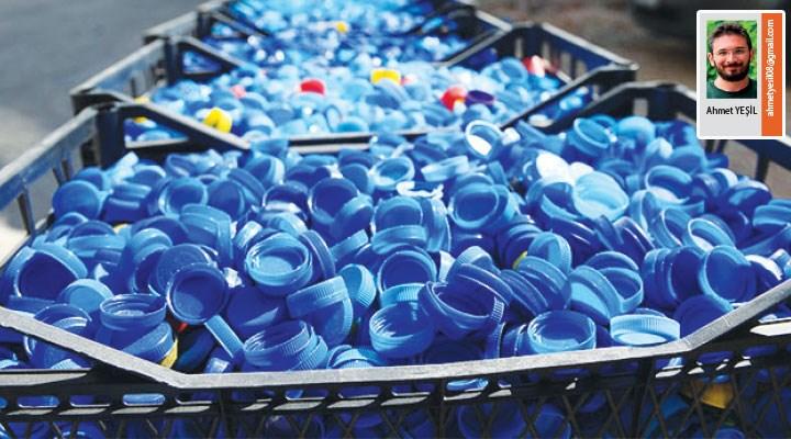 Bisiklet günlükleri: Cipe binip çevre için mavi kapak toplamak